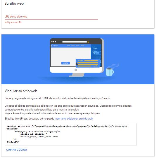 codigo google adsense