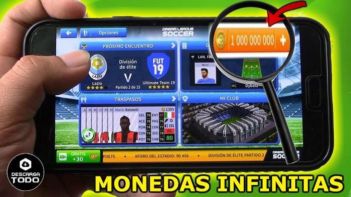 monedas infinitas dream league soccer 2019