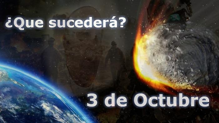 3 de octubre asteroide FT3