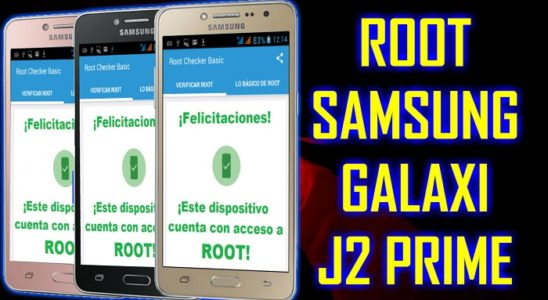 root en android GALAXY J2 SM-G532M