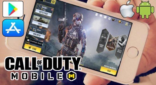 descargar call of duty mobile ios android