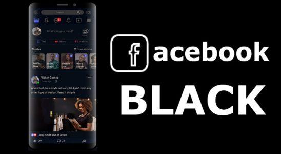 Facebook Oscuro messenger