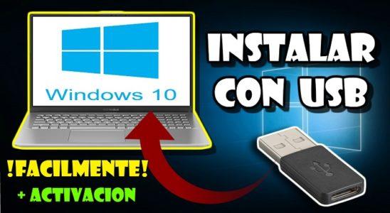 FORMATEAR e INSTALAR WINDOWS 10 desde USB Mas ACTIVACIÓN