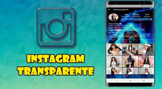 Instagram Transparente