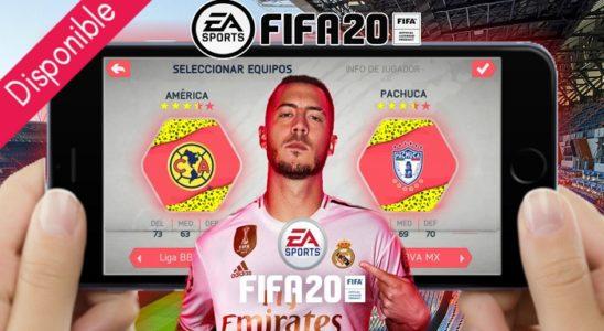 DISPONIBLE FIFA 2020 YA!! en cualquier celular ANDROID descargalo