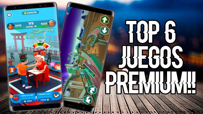 TOP 6!! JUEGOS PREMIUM PARA ANDROID