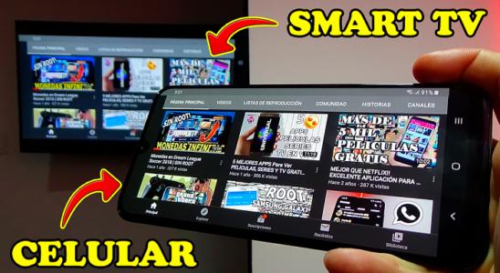 Comparte la PANTALLA de tu CELULAR EN CUALQUIER SMART TV 2020