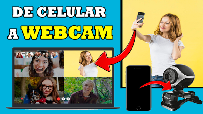 Cómo USAR tu CELULAR ANDROID como WEBCAM en WINDOWS