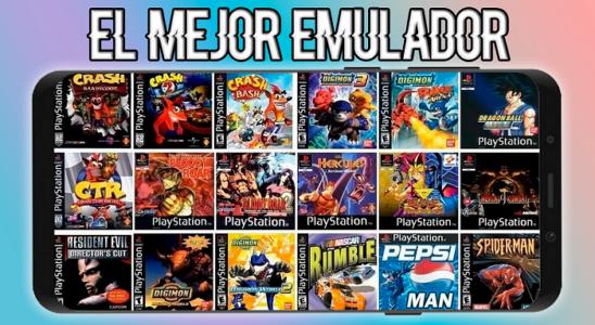 El Mejor EMULADOR de PLAYSTATION Para ANDROID