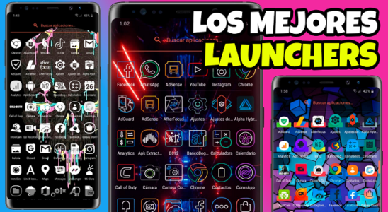 TOP 3!! Los Mejores LAUNCHERS para tu ANDROID