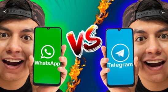 DIFERENCIAS - WhatsApp VS Telegram ¿Cuál es mejor? CAMBIATE YA!