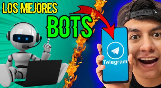 Los MEJORES BOTS de TELEGRAM Sácale el máximo partido a TELEGRAM
