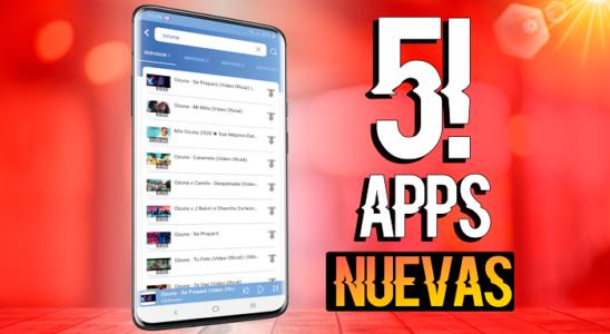 TOP 5!! Las MEJORES APLICACIONES para tu CELULAR ANDROID